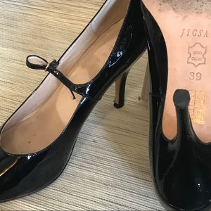 Patent Mary Jane Pumps